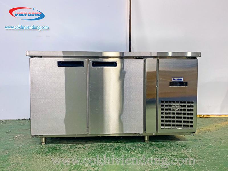 Top 4: Tủ lạnh nằm 2 cánh inox
