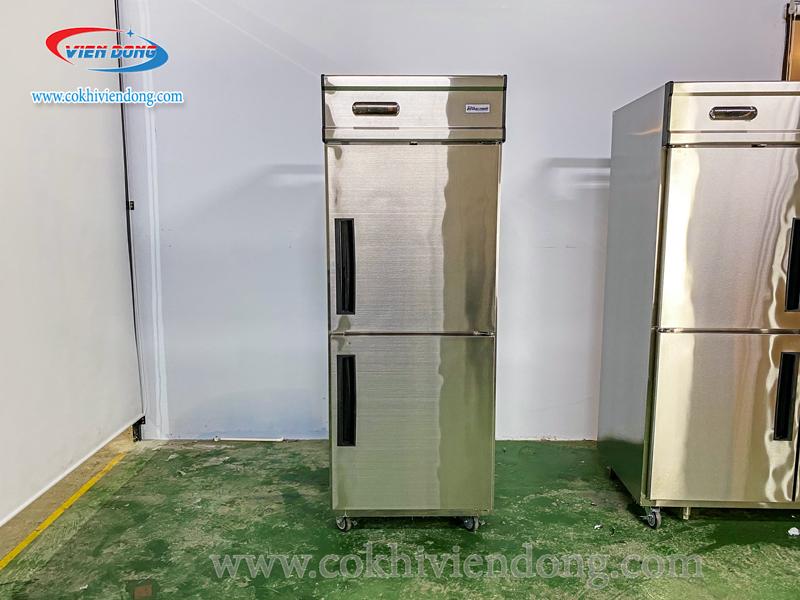 Tủ lạnh công nghiệp 2 cánh inox
