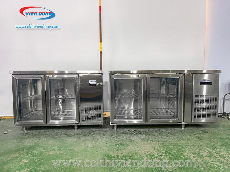 Báo giá bàn lạnh công nghiệp trên thị trường